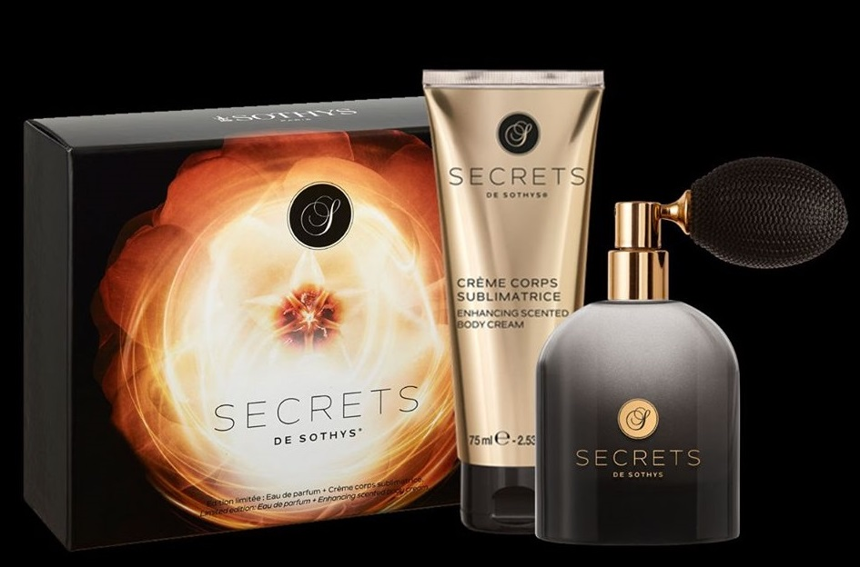 Eau de parfum Secret en coffret promotionnel